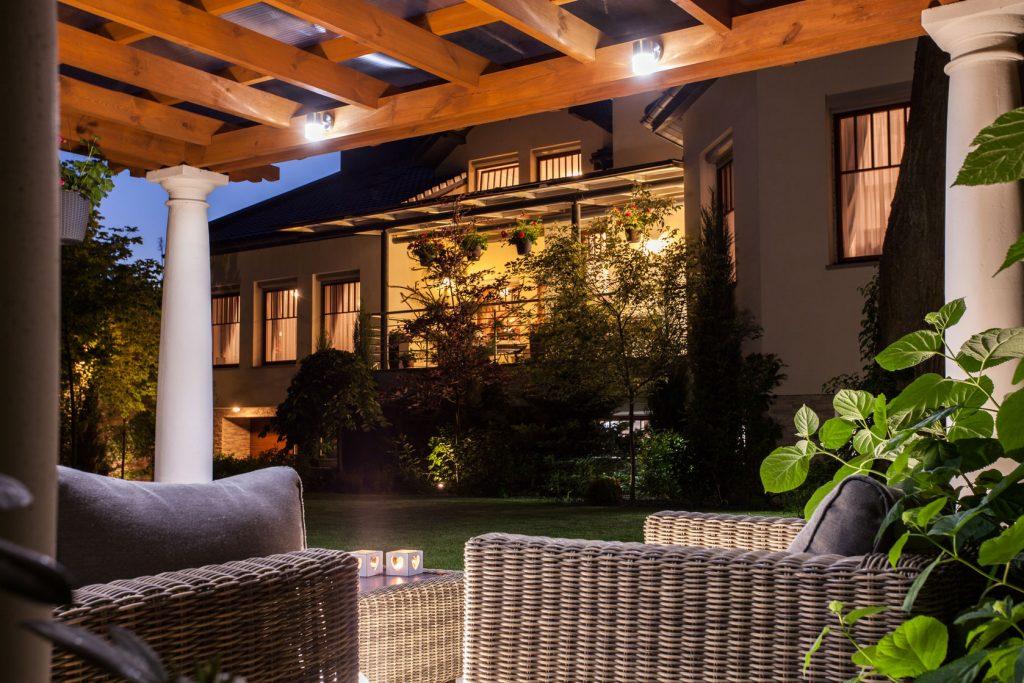Outdoor Lighting Landscape Design Services In