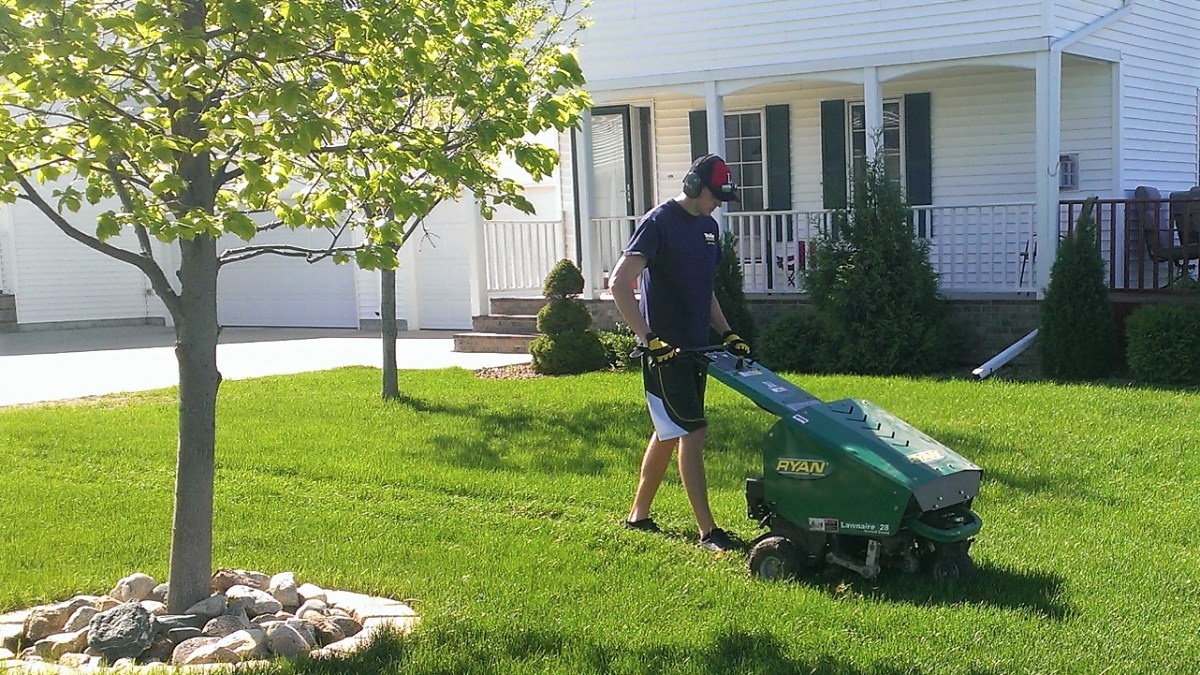 Yard Aeration & Overseeding in Charlotte, NC | Lawn Care